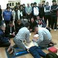 体協で心肺蘇生法の講習会