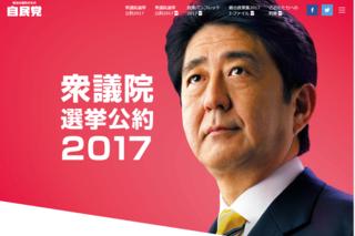 衆議院選挙公約2017
