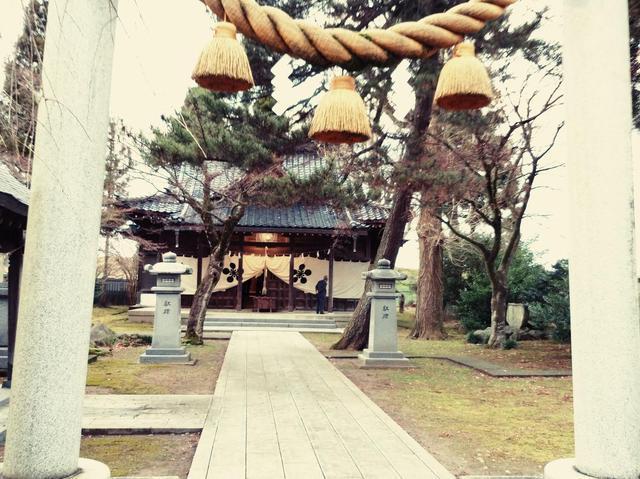 令和二年元旦の松尾神社