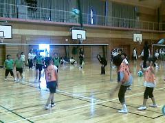 光陽校区ビーチボール大会