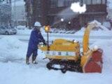 除雪ボランティアの様子