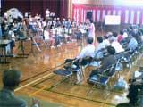光陽小学校ブラスバンドの演奏