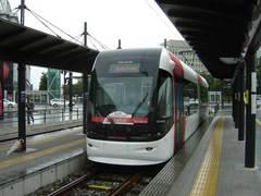 富山北駅のポートラム