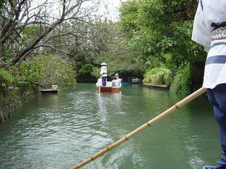 柳川の水路